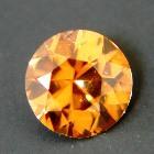 precision cut unheated golden zircon from Sri Lanka in round shape