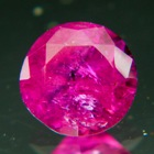 round untreated Tanzanian Ruby near 2 carat