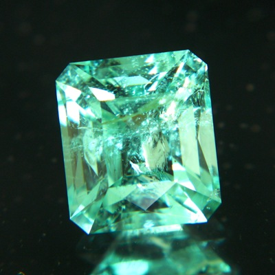 precision cut untreated Brazilian Emerald