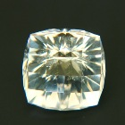 precision cut tinted white danburite 16 carat