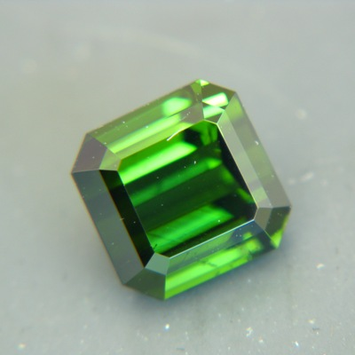 mint green in natural untreated tourmaline oval from Kenya