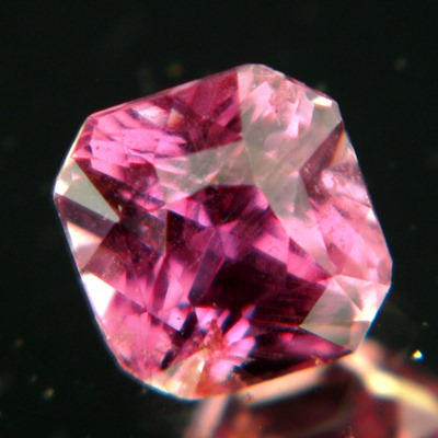 pink princes precision cut africa sapphire unheated and natural