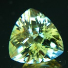 Bright yellow green Oregon sunstone