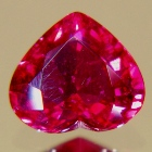 heart thai ruby untreated