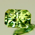 precision cut bright mint tsavorite garnet