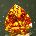 Red green orange yellow Pakistani titanite