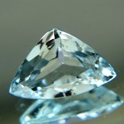 Greenish blue Ceylon topaz