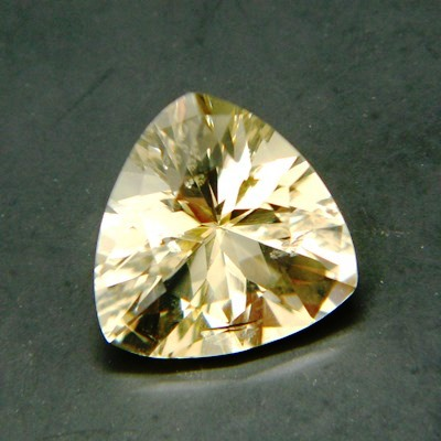 citrine without treatments in precision trillion cut and IGI report