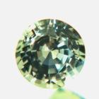 Unheated yellow-green sapphire