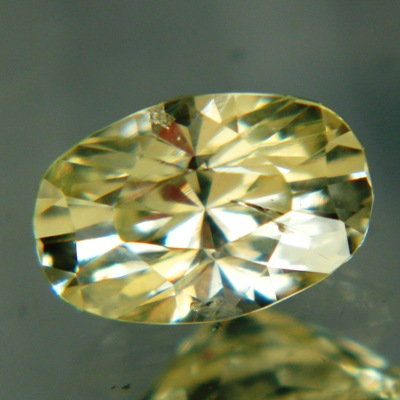 unheated yellow sapphire in precision cut