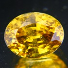 Rich empire yellow Ceylon Zircon.