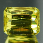 rare andratite demantoid green garnet in full size