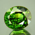Deep jungle green Ceylon Zircon