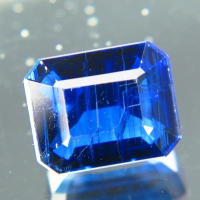 Kyanite gem from nepal kashmir blue