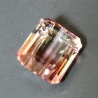 water-melon tourmaline free of treatments, free of inclusions, green and pink in a clean crystal