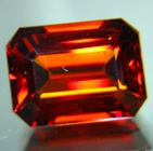 Deep golden orange African spessartite