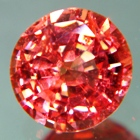 fire red flame spinel untreated