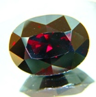 dark red garnet gemstone no heat no treatments at all