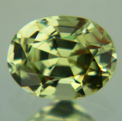 bright green yellow chrysoberyl