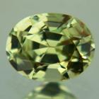 bright green yellow chrysoberyl