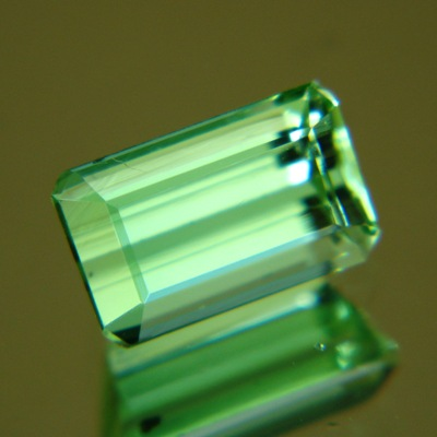 Grass green Afghani tourmaline