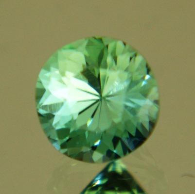Bright mint green Afghani tourmaline