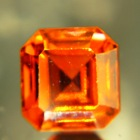 Copper orange Mozambique tourmaline