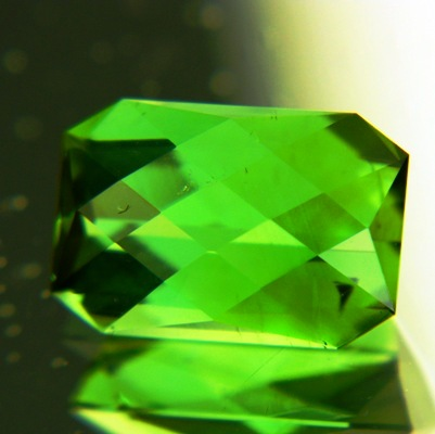 Fresh mint green Afghani tourmaline