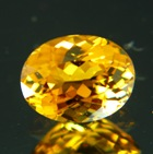 Rock-solid golden yellow Mozambique Tourmaline