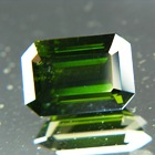 Midnight green Ceylon Zircon.