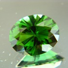 Deep rain forest green Ceylon tourmaline
