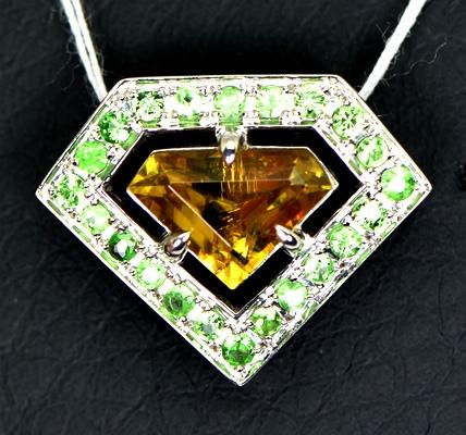 Engagement & Wedding Honest Top Class Green Kashmiri Emerald Pear Gemstone Silver Plated Necklace Set 100% Guarantee