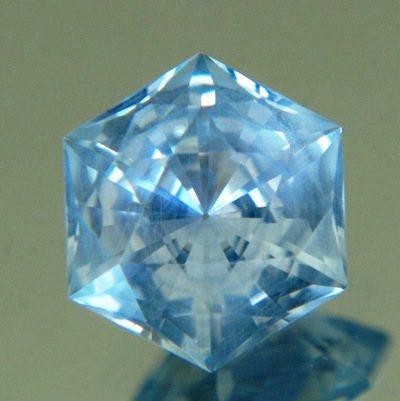 Fogy sky blue Montana sapphire