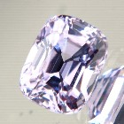 cushion light pink spinel from Burma, unheated and natural, no window, IGI report