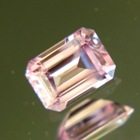 Mild rose pink Burmese sapphire