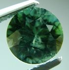 natural unheated green sapphire