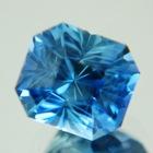 Metallic blue Montana sapphire