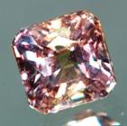 square shape sapphire non heated