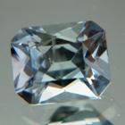 Steel blue Montana sapphire