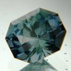Aqua greenish blue Montana sapphire