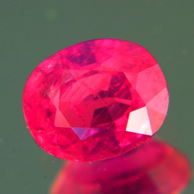 2+ carat no heat ruby clean and brilliant