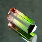Green to pink Pakistani tourmaline