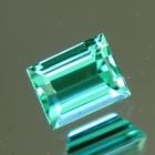 Neon blue green Afghani tourmaline