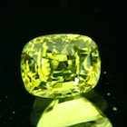lime green chrysoberyl unheated
