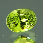 neon green diamond like garnet
