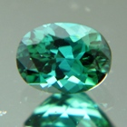 green tourmaline gemstone not treated or heated