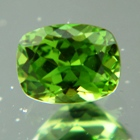 unheated neon green tourmaline