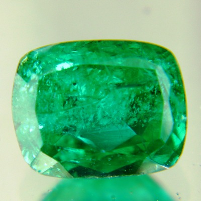 untreated zimbabwe emerald vivid green