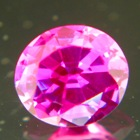 Deep neon pink red Burma sapphire