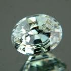 Metallic green blue Montana sapphire